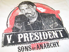 SONS OF ANARCHY CHIBBS VICE PRESIDENT T-SHIRT NEW !