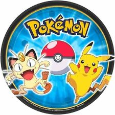 Pokemon Pikachu and Friends Paper Party Plates Dessert 8 ct