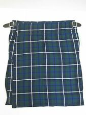 Douglas Tartan Scottish Kilt - Various Sizes - NEW WITH DEFECT