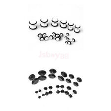 14Pcs Fake Piercing Ear Cheater Earring Studs Plugs Stretcher Stretching Kit set
