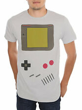 Nintendo Classic Gameboy T-Shirt Video Game Boy NES Geek Gray Screen Tee Retro