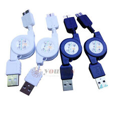 Retractable USB Charger Data Sync Cable For Samsung Note3 N9008 N9006 N9009