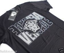 BNWT Men's Black SILVER MEDUSA Short SLV SEXY T-SHIRT- SIZES:M-L!!!