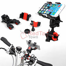 Motorcycle Bicycle Bike MTB Handlebar Mount Holder For Cell iPhone 6 Samsung GPS
