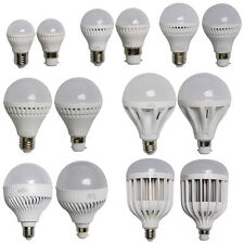 3/5/7/9/12/18/36W LED Globe Bulbs B22 E27 SMD Light Bayonet Lamp Warm/Day White