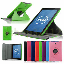 Folio Rotating PU Leather Stand Case Cover For DELL Venue 8 3830 Android Tablet