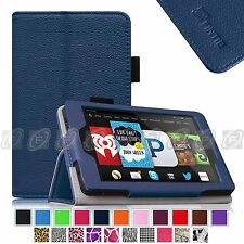 """Fintie Slim PU Leather Folio Case Cover Stand For Fire HD6 6"""" 2014 Model Tablet"""