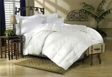 1200 Thread Count King or Queen Siberian Goose Down Comforter 750FP, White Solid