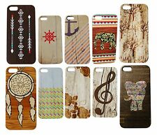 Wooden Print Cute Tribal Indian Dream Catcher For Wood iPhone 5s Elephant Case