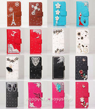 Color Bling Beauty Wallet Leather Flip Case for Various Motorola Cell Phone