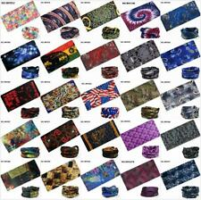 Head/Face/Mask/Neck Tube Scarf Bandanas Hood Biker Motorcycle Wrap Cap Seamless