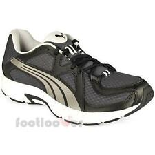 Puma Axis v3 186727 12 running shoes fitnes leather black gray mash