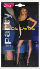 Silky PARTY silver gold SPARKLE pantyhose FLAMENCO CHA CHA CHA WALTZ CHARLESTON