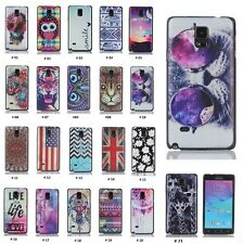 For Samsung Galaxy Note 4 New Fashion Painted Hybrid Hard Cover Case Skin Back