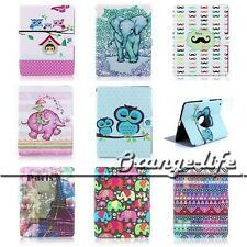 Hot Cute Smart PU Leather Stand 360 Rotating Magnetic Case Cover For Apple iPad