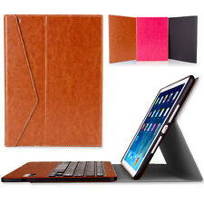 Auto-sleep Removable Keyboard Leather Case Stand Cover For iPad 6 iPad Air 2 NEW