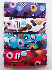 Liquorice Allsorts Cloth Covered Hard Metal Spectacle Glasses Case licorice