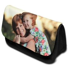 Personalised Pencil Case. Printed with your text and photo