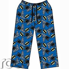 Mens Blue Batman Pajama Pants, Mens Lounge Pants, Pyjama Pants, Lounge Wear