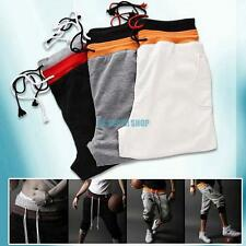 Men's Casual Sport Gym Rope Shorts Pants Jogging Cropped Trousers S M L XL XXL