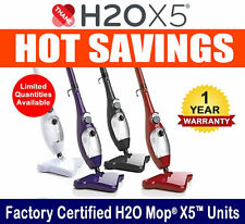Factory Certified H2O Mop® X5™ Steamer Special TV Offer