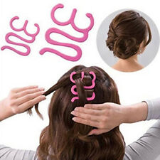 French Hair Braiding Tool Roller With Hook Magic hair Twist Styling Bun Maker