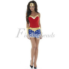 HOT Women's Sexy Costumes Cosplay Party Dress Superhero Wonder Woman Outfit