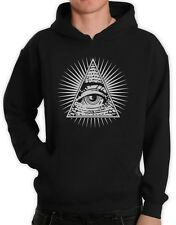 All-Seeing Eye Hoodie Illuminati Don't Trust Anyone Pyramid Hip Hop Hooded Top