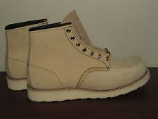 Red Wing 8173 7.5E 8D 8.5D 9E 9.5E 9.5D12D 13 suede Abeline NEW USA Boot Tan moc