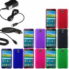 Protector Hard Shell Case For AT&T Samsung Galaxy Mega 2 G750F Car Home Charger