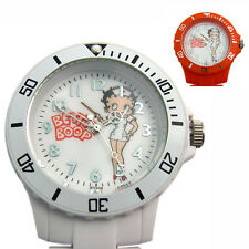 Betty Boop Beautician's Nurse's Uniform Fob Watch Silicon Red or White