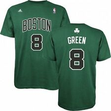 Boston Celtics Jeff Green Green Name and Number T-Shirt