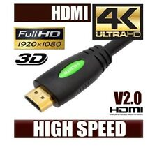 1m 1.5m 2m 3m 4m 5m 10m 15m 20m 4K Ultra HD Premium HDMI Cable v2.0 3D HighSpeed