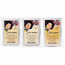 Palladio Rice Paper 40 Sheets ~ 3 Shades ~ [Pack of 1 or 6]
