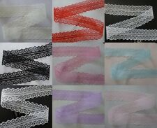 Beautiful 10yards embroidery lace ribbon colors can be selected  9color
