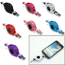 Retractable 2.0 Micro USB Data Sync Charging Cable Lead For Various Smartphone