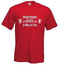 NORTHERN SOUL A WAY OF LIFE T-SHIRT - Mod Motown Scooter - Choice Of Colours