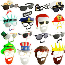 Sunstache Moustache Sunglasses (Choose Your Style) Shades Costume Accessory New