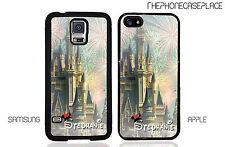 NEW Disney Cinderella Castle Personalized With Your Name Phone Case Cover