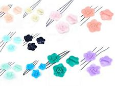 5/10 x Premium Quality 3 Strand Divider Resin Flower Beads ♥ 33mm ♥ lady-muck1