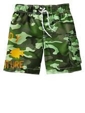 NWT BABY GAP BOYS SWIM TRUNKS SWIMSUIT  camo    you pick size