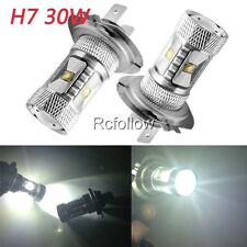 New H7 30W White LED Auto Car DRL Driving Fog Light Lamp Bulb High Power Bright