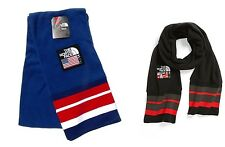 The North Face Sochi 2014 Vilage Mountain Scarf USA RED&BLUE or Black&Red Fleece