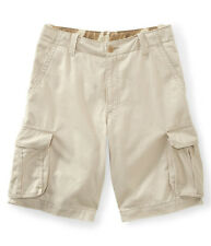 Aeropostale Mens Longer Length Casual Cargo Shorts