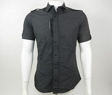 G-Star Men Hemd HOUSTON STITCH SHIRT 83064.2122.306 Black Schwarz +NEU+ Größe M