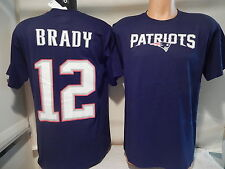41205 MENS New England Patriots TOM BRADY Name Number Football Jersey Shirt BLUE
