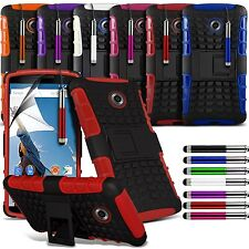 Shockproof Dual Layer Heavy Duty Case Cover & Stand For Various Mobile Phones