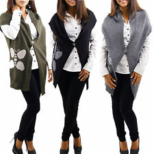 Vest Bolero Butterflies Pattern Knitted Jumper Jacket Jumper Cardigan Wool