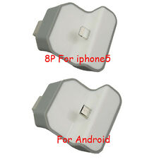 Portable Micro Wireless USB Wall Dock Charger Adapter For iPhone 5 5S 6 6 plus