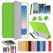 Ultra Slim Magnetic Smart Cover + Back Case Stand For APPLE iPad Air 2 3 4 Mini